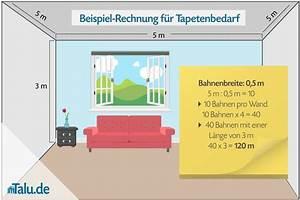 Tapetenbedarf Berechnen : rauhfaser selbst tapezieren diy anleitung ~ Themetempest.com Abrechnung