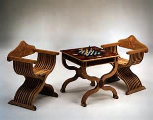 chess table and chairs by masterpiece furniture creations