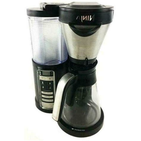 Ninja coffee brewer is a 12 cup programmable coffee maker with custom brew strengths and a hotter brewing advanced. Ninja CF021 Coffee Maker Brewer Auto-iQ Hot and