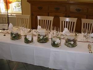 Decoration De Table Pour Mariage : deco de fleurs pour table fleur tissu mariage maison retraite champfleuri ~ Teatrodelosmanantiales.com Idées de Décoration