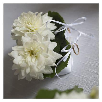 cuscino portafedi  fiori