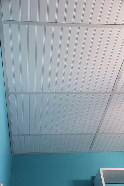 dress   drop ceiling  replacing fiberglass tiles
