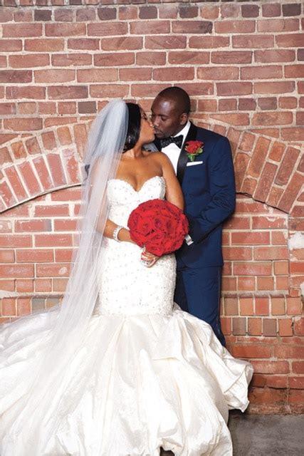 elegant african american black girl wedding dress