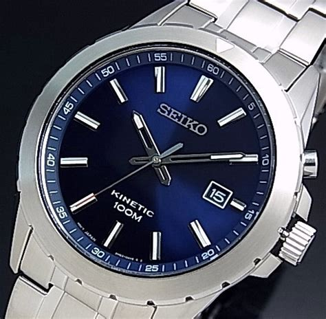 Jam Seiko Kinetic Blue Gold bright rakuten global market seiko kinetic s