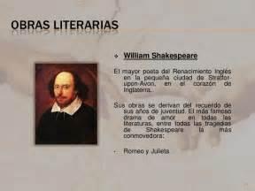 william shakespeare resumen para nios el arte en el renacimiento