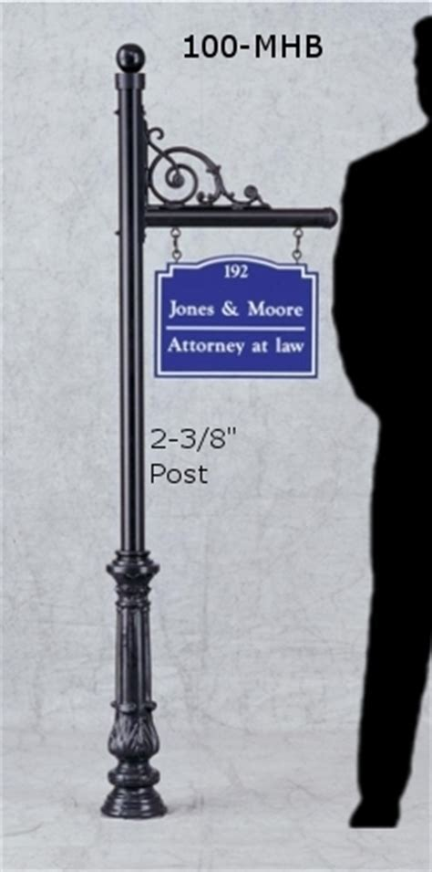 Decorative Posts for Hanging Signs