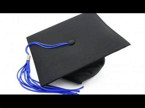 como hacer  birrete de graduacion wwwracoinfantilcom youtube