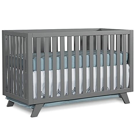 gray convertible crib child craft soho 4 in 1 convertible crib in grey buybuy