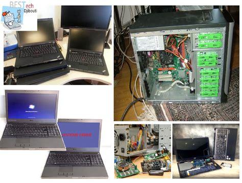 bureau pc portable reparation des pc portable bureau maintenance à djibouti