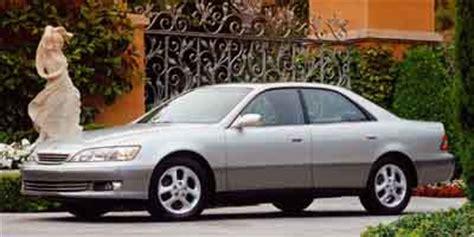 2001 Lexus Es300 Specs by 2001 Lexus Es 300 Review Ratings Specs Prices And