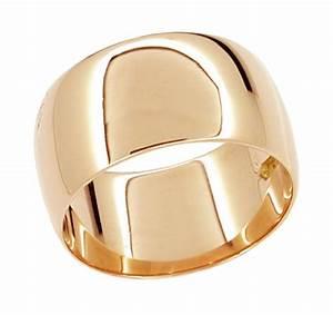 Women39s 10mm Wide Wedding Band Ring In 14 Karat Rose Gold