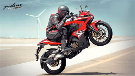Bajaj Rouser Hd Photo by Bajaj Pulsar Rs 200 Images Photos Hd Wallpaper