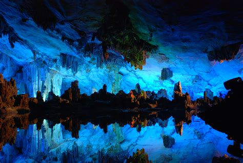 Reed Flute Cave HD Wallpaper | Background Image ...