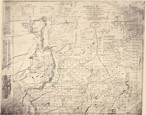 Printed Resources Map Of Haskell County State Of Texas Exhibiting The