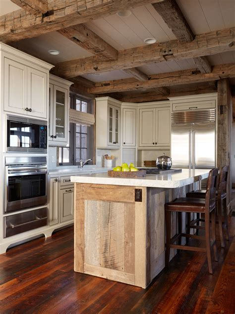 rustic kitchen islands 20 cozy rustic kitchen design ideas style motivation