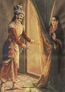 File:Raja Ravi Varma, Keechaka and Sairandhri, 1890.jpg ...
