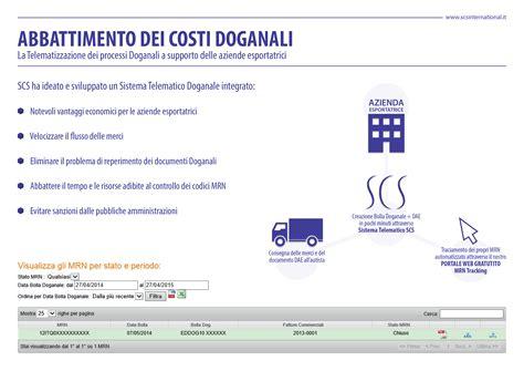 ufficio doganale semplificazioni doganali scs venturini