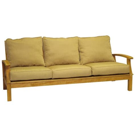 birds monterey teak deep seating seater sofa