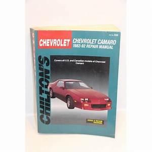 Garage En Anglais : revue technique chevrolet camaro de 1982 1992 en anglais vintage garage ~ Medecine-chirurgie-esthetiques.com Avis de Voitures