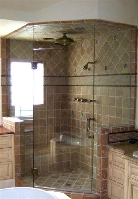 frameless shower enclosure design options bathroom