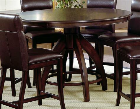 counter height table height hillsdale nottingham counter height dining set 4077dtbcg