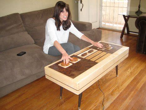 nes controller coffee table   dual functional work