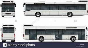city bus vector template for car branding and advertising With tour bus design template