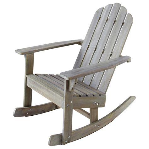 fauteuil a bascule maison du monde fauteuil 224 bascule de jardin enfant bois gris 233 ontario maisons du monde