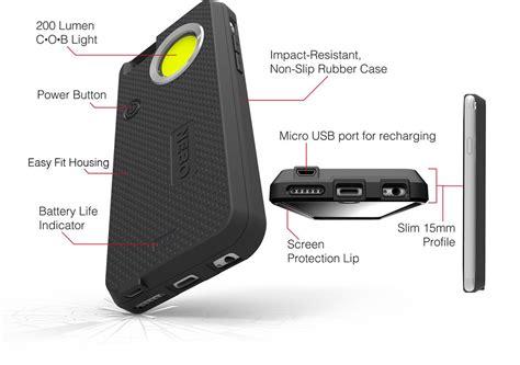 flashlight for iphone nebo 174 casebrite iphone 6 phone powerful light