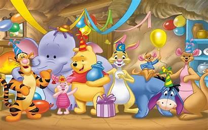 Pooh Winnie Birthday Happy Celebration Desktop Gifts