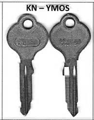 mercedes ymos kn type key blank genuine part