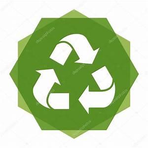 logotipo reciclaje eco — Vector de stock © quarta #121235272