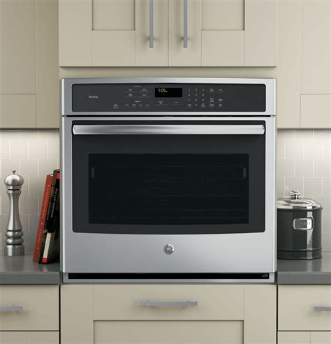 ge profile series  built  single convection wall oven ptsfss ge appliances