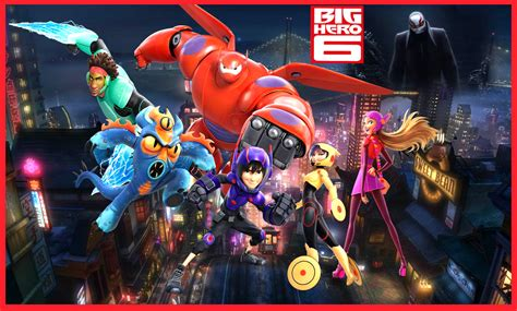 BIG HERO 6 AND YOUR CHILDREN POWERS AND