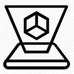 Virtual Platform Reality Icon Cube Icons Vr