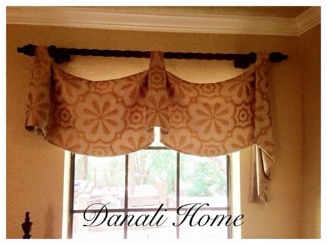 Pole Mount Empire Valance By Danali Home.