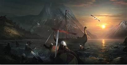 Vikings Artstation Artwork