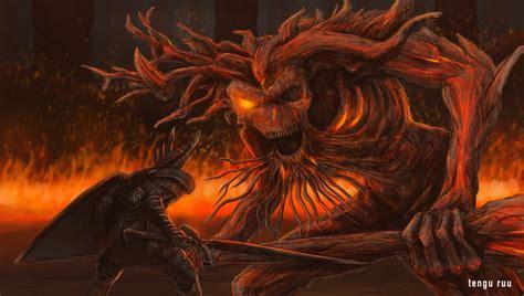 Epic Anime Demons Souls 3 King By Oniruu On Deviantart