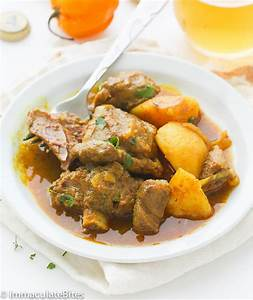 Jamaican Curry Goat - Immaculate Bites