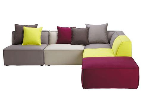 canapé cuir modulable canapés modulables une assise à ma guise décoration