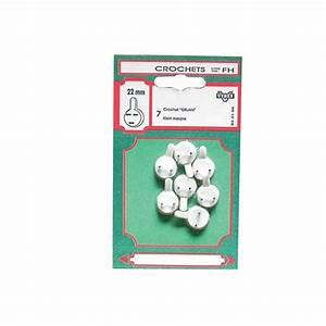 Crochet Pour Tableau : crochet tableau b ton lot de 4 40 mm 33109 vynex ~ Farleysfitness.com Idées de Décoration