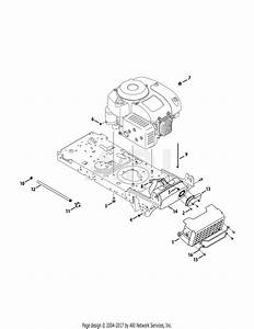 Troy Bilt 13a879ks066 Tb42 Hydro  2015  Parts Diagram For Engine Accessories