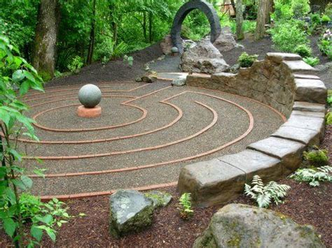 garden labyrinth plans there is something very elegant and special about this design for a labyrinth perhaps the