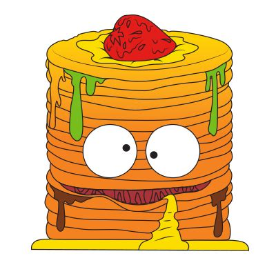 character description muck template image putrid pancakes orange png the grossery gang