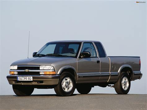 Chevrolet S10 Extended Cab Euspec 19982003 Images