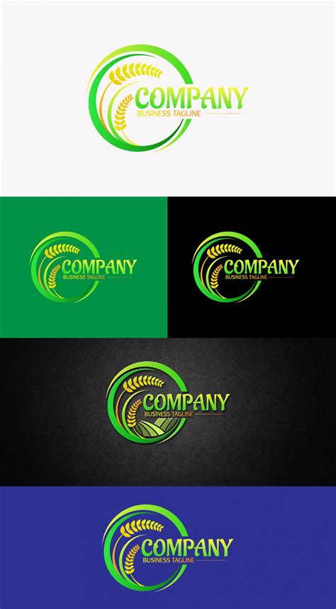 Creative Agriculture And Farm Logo Design Free Template