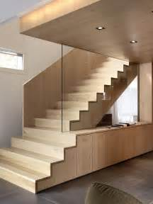 treppe holz by nimmrichter cda architects interior wood stairs design