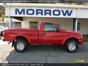 4x4 Ford Edge : bright red 2003 ford ranger edge regular cab 4x4 dark graphite interior ~ Farleysfitness.com Idées de Décoration
