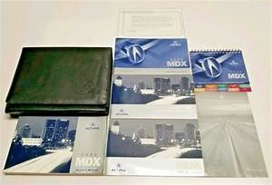 2006 Acura Mdx Owners Manual User Guide Crossover Suv V6 3