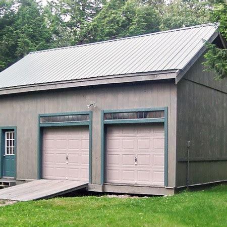 2 car garage kits 2 car garage kits two car garage plans jamaica cottage
